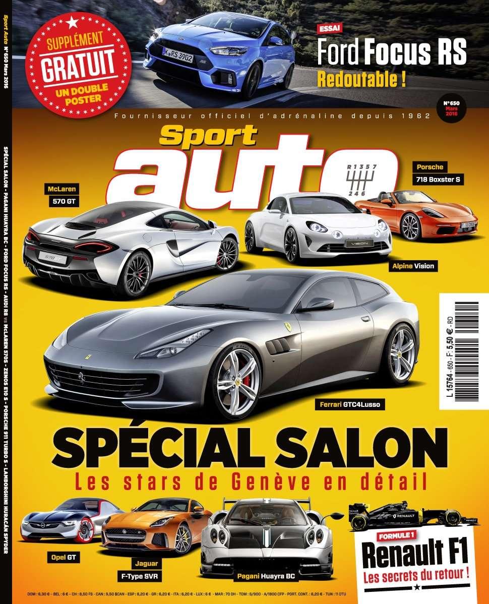 Sport Auto 650 - Mars 2016