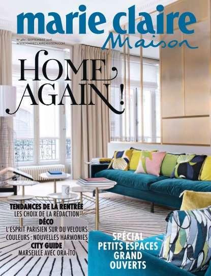 Marie Claire Maison France 487 - Septembre 2016