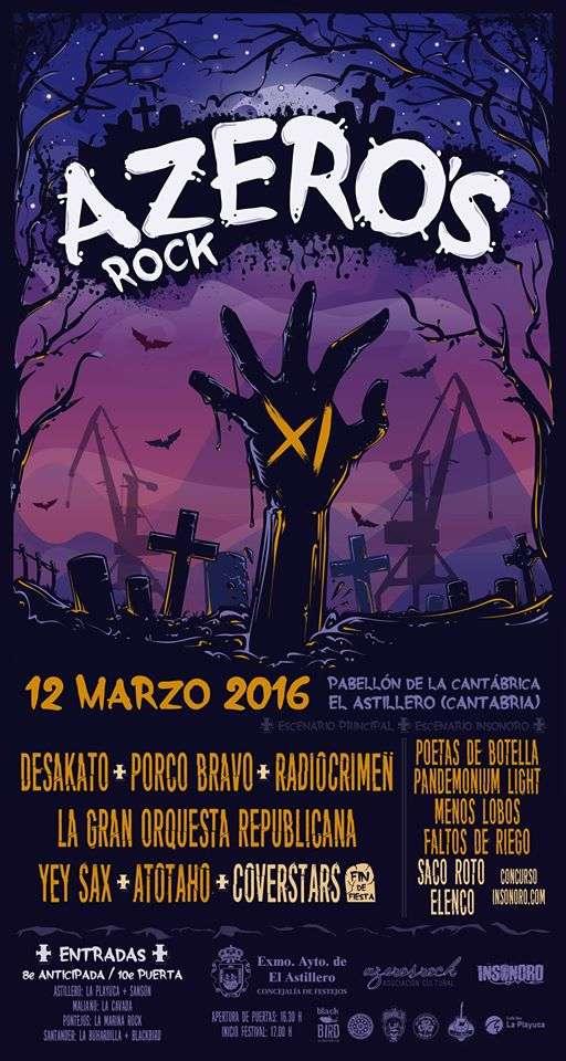 Azero's Rock Fest - cartel