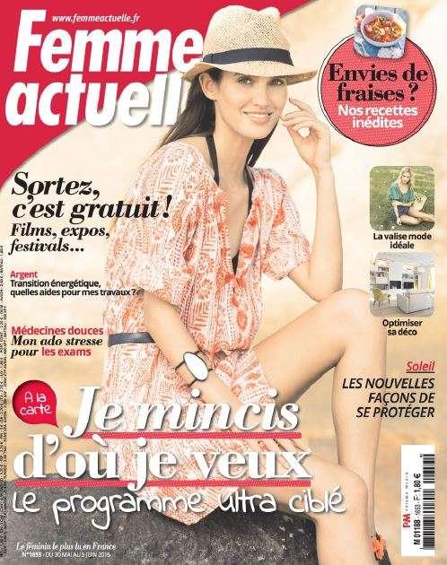 Femme Actuelle 1653 - 30 Mai au 5 Juin 2016