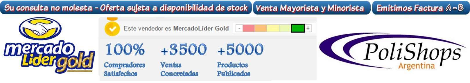 SU CONSULTA NO MOLESTA - OFERTA SUJETA A DISPONIBILIDAD DE STOCK