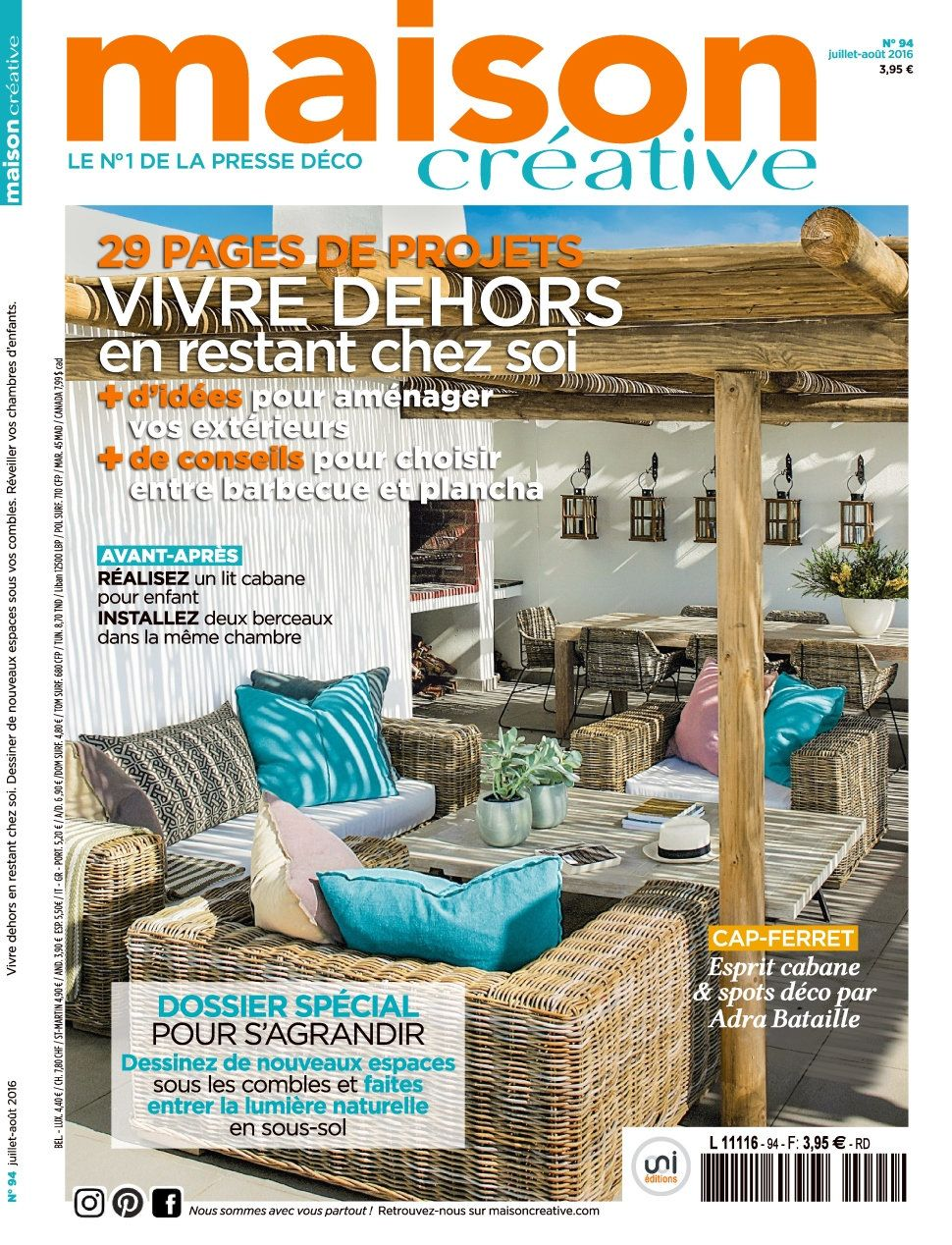 Maison Créative 94 - Juillet/Aout 2016