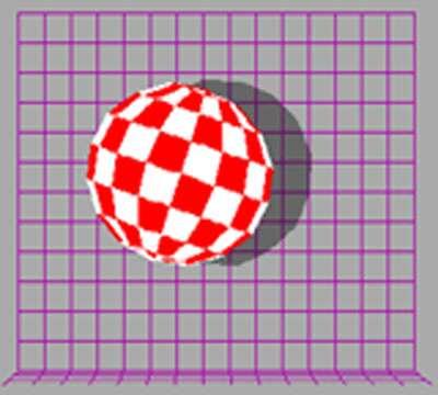 Słynne demo Amiga Boing Ball.