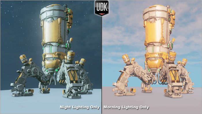 Day lighting UDK
