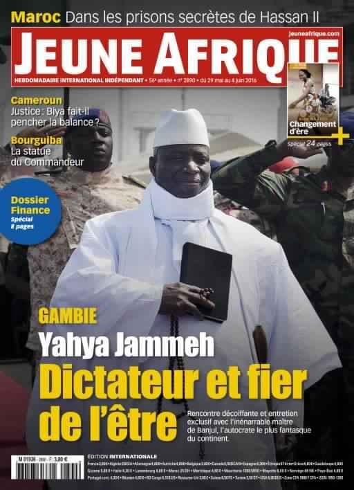 Jeune Afrique 2889 - 29 Mai 2016