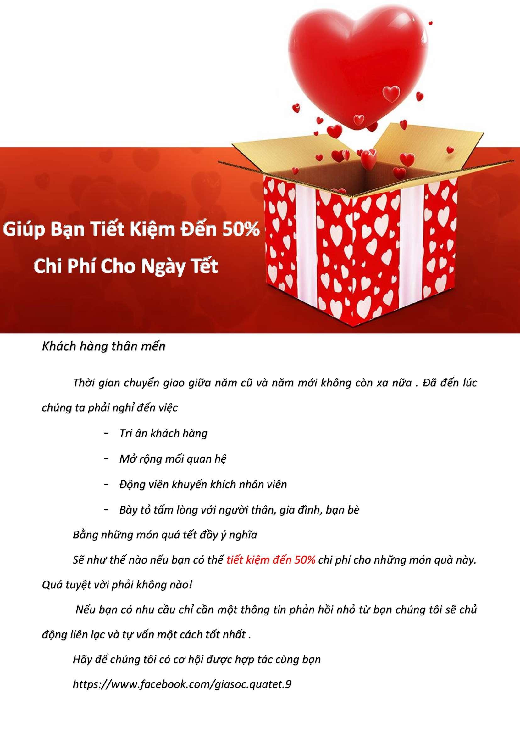 Dịch Vụ Quà Tặng Tết tại TP Hồ Chí Minh
