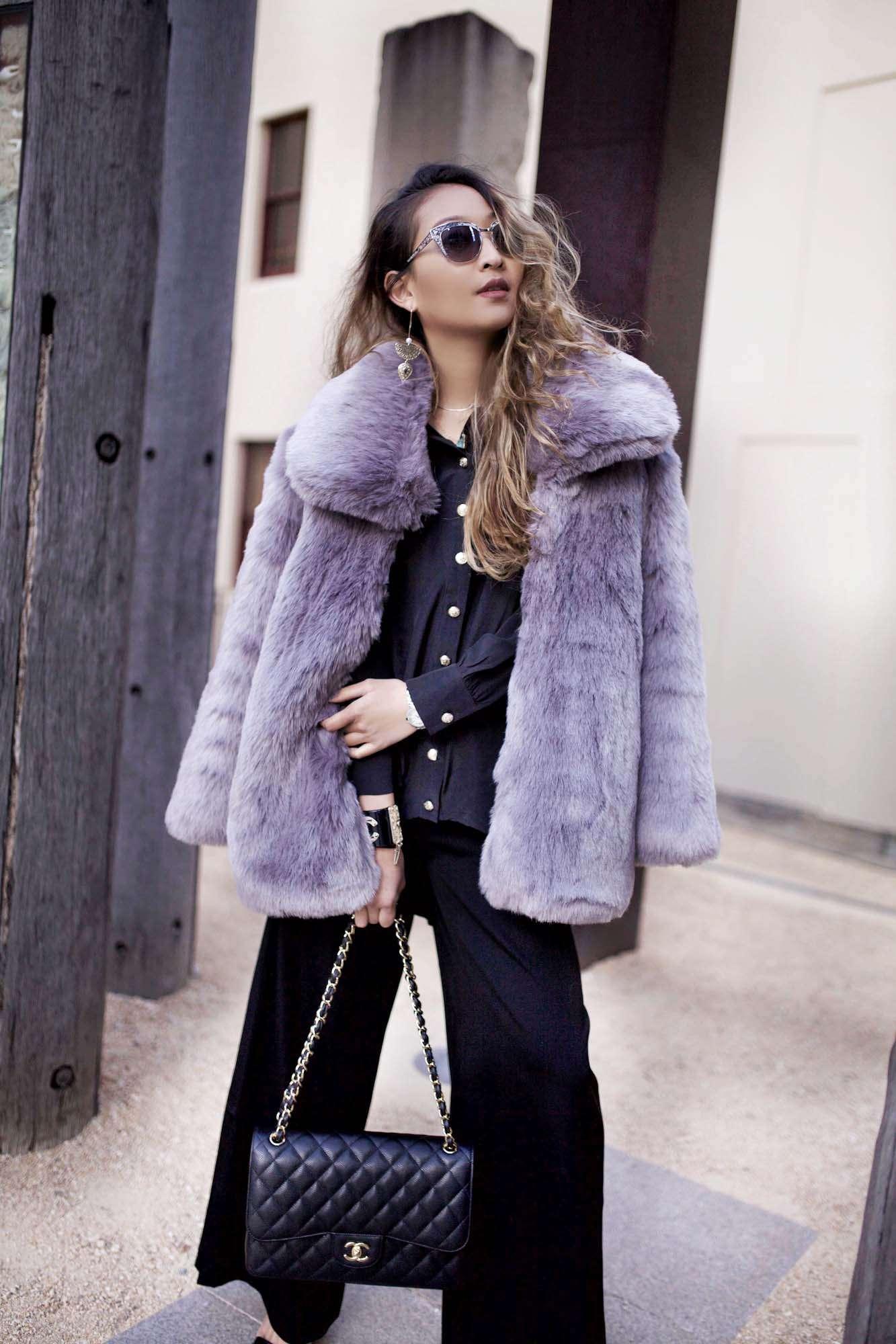 Haus of Song Fur Coat
