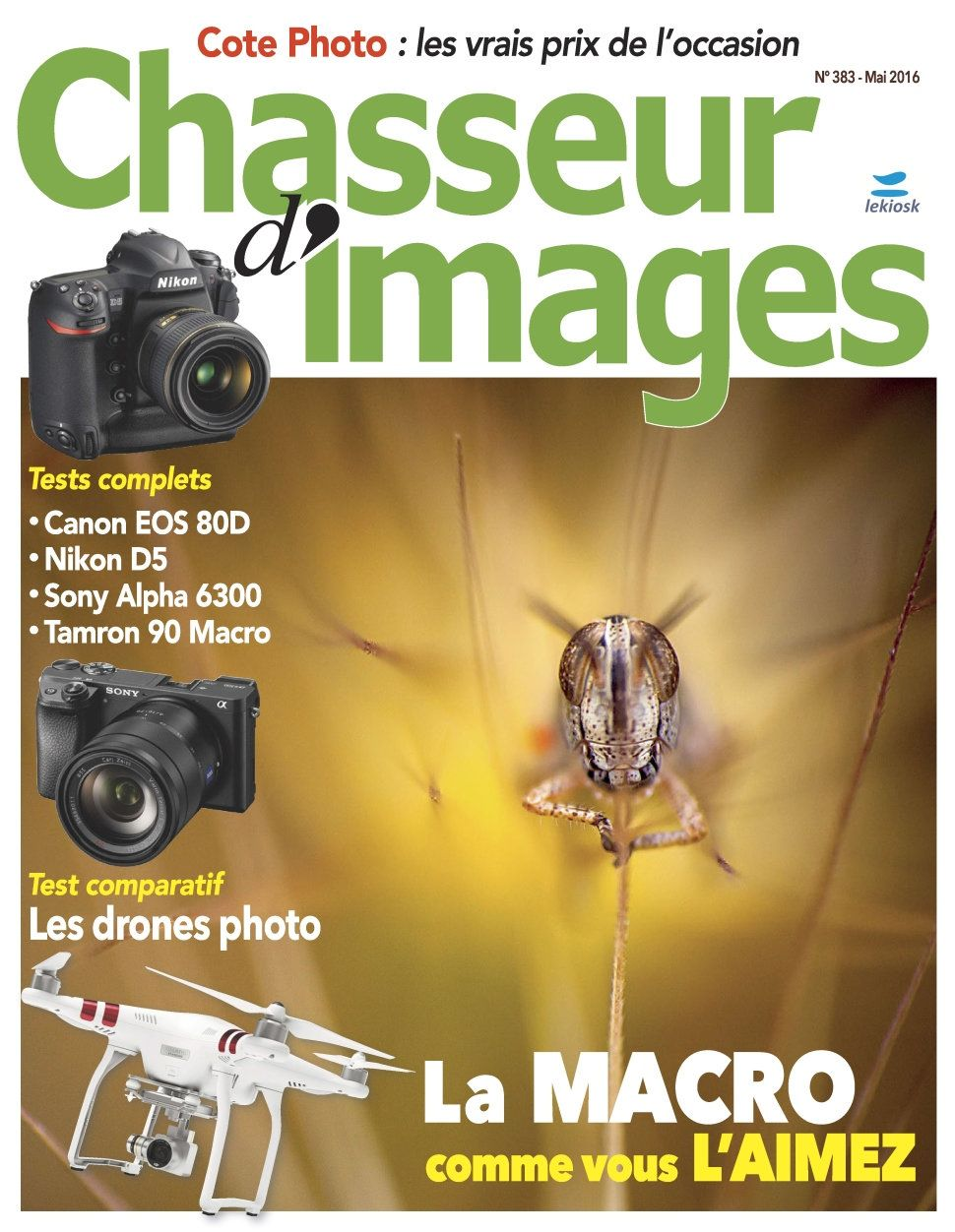 Chasseur d'Images 383 - Mai 2016