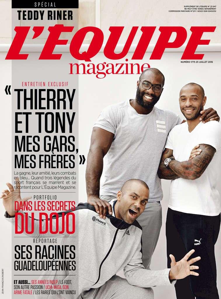 L'Équipe Magazine 1775 - 23 Juillet 2016