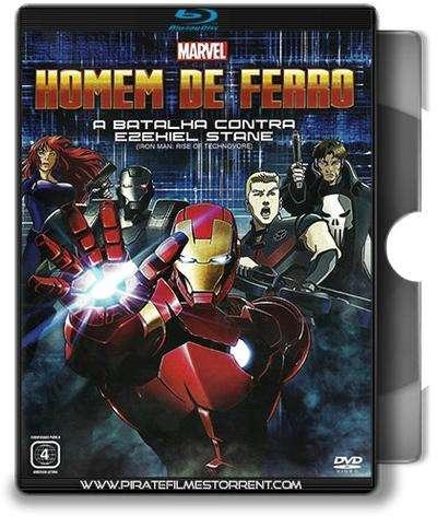 Homem de Ferro: A Batalha Contra Ezekiel Stane