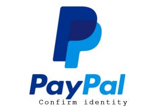 Xác minh danh tính paypal - Confirm Your Identity