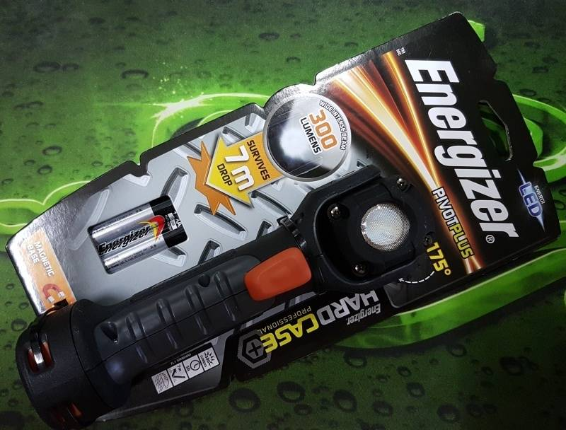 energizer vision hd flashlight instructions
