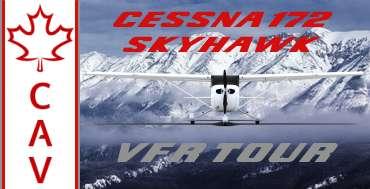 Cessna 172 Skyhawk VFR  Tour