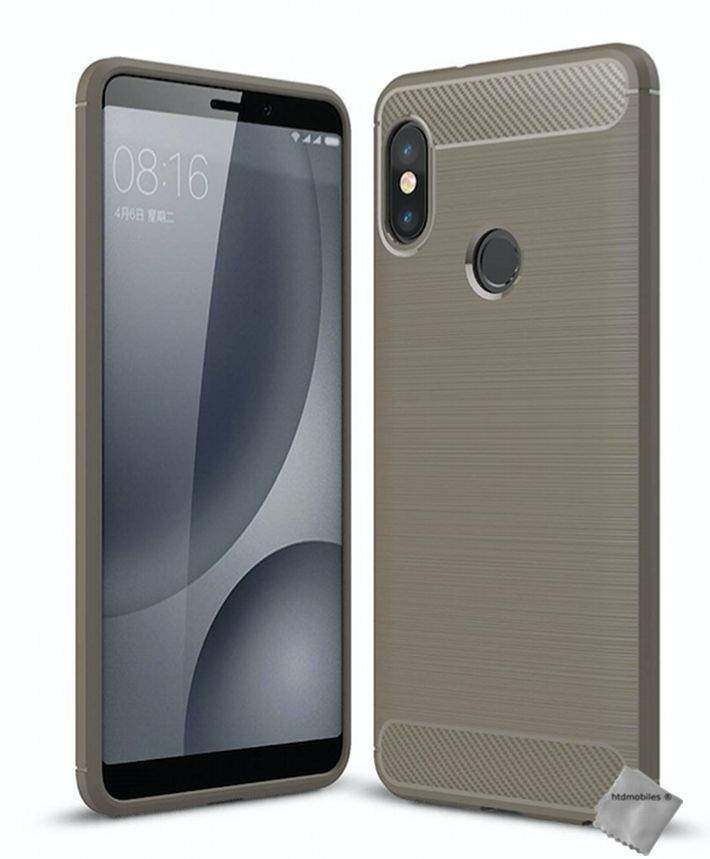 Housse-etui-coque-silicone-gel-carbone-pour-Xiaomi-Redmi-Note-5-film-ecran