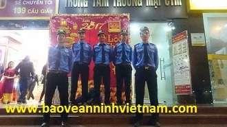 Triển khai bảo vệ thanh công ngày tài bảo tín Minh Châu