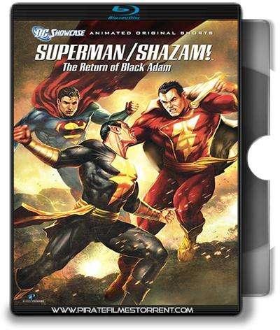 DC Showcase Superman e Shazam O Retorno do Adão Negro