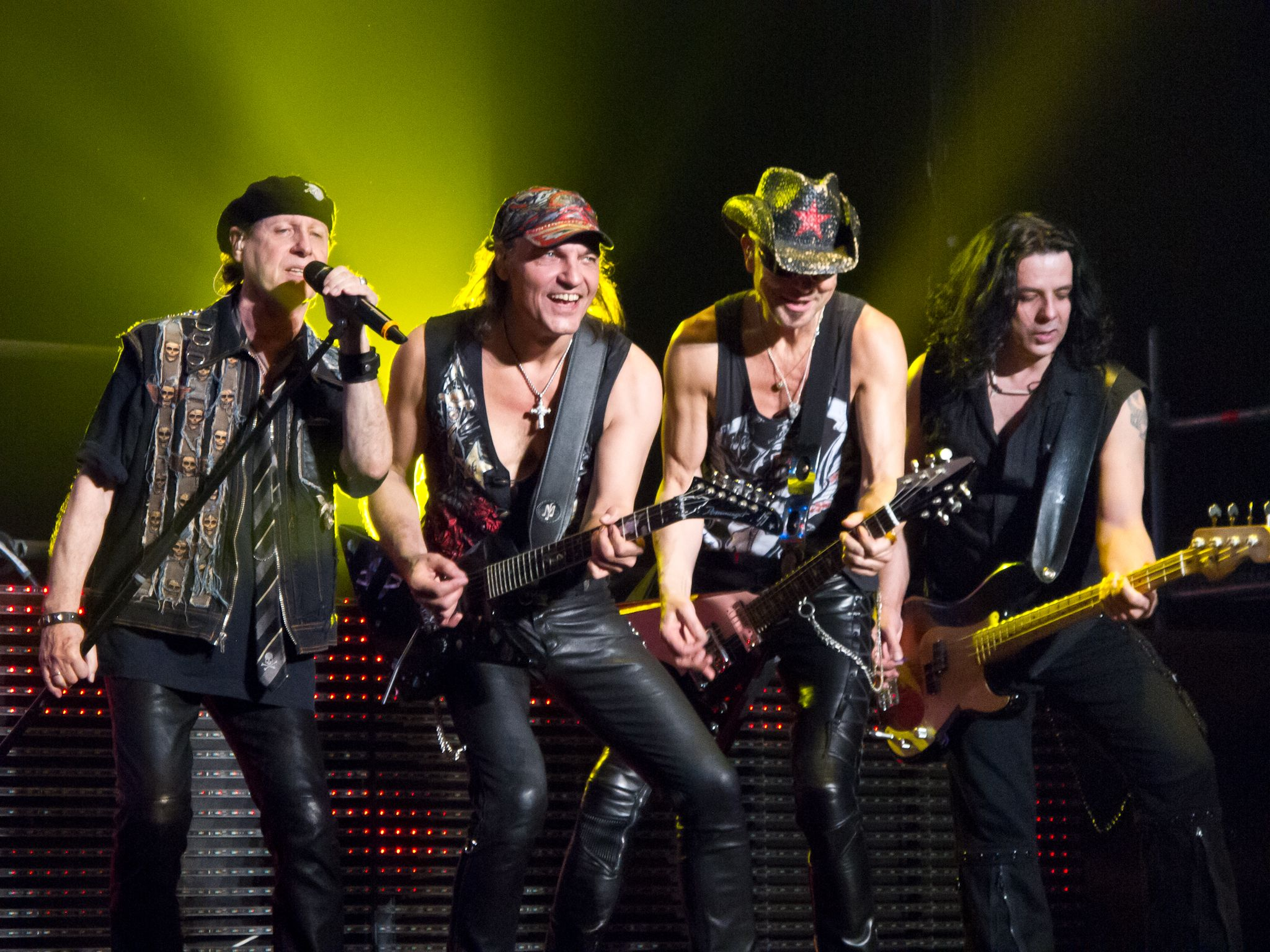 Scorpions y Megadeth se van de gira