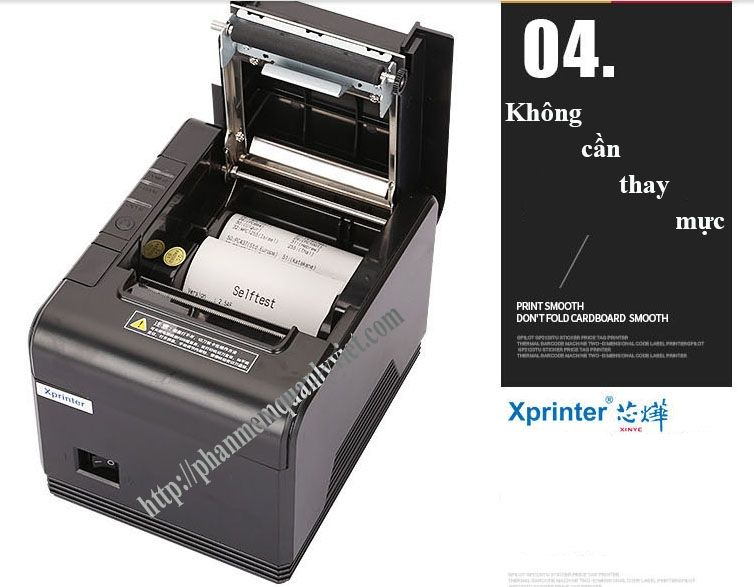 Máy in hóa đơn K80 Xprinter Q200