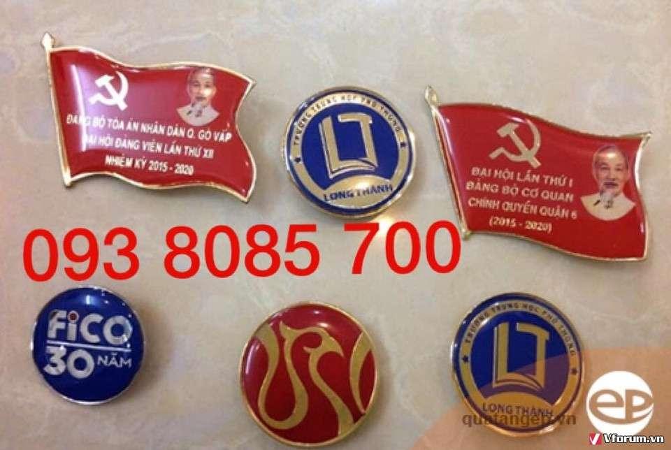 Nhà cung cấp huy hiệu,bảng tên nhân viên cao cấp chất liệu đồng mạ vàng,niken, inox theo yêu cầu