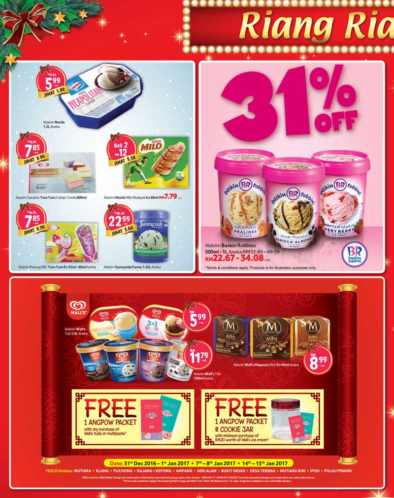 Tesco Malaysia Weekly Catalogue (15 December - 21 December 2016)