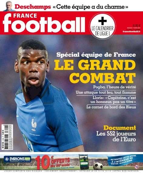 France Football - 7 Juin 2016