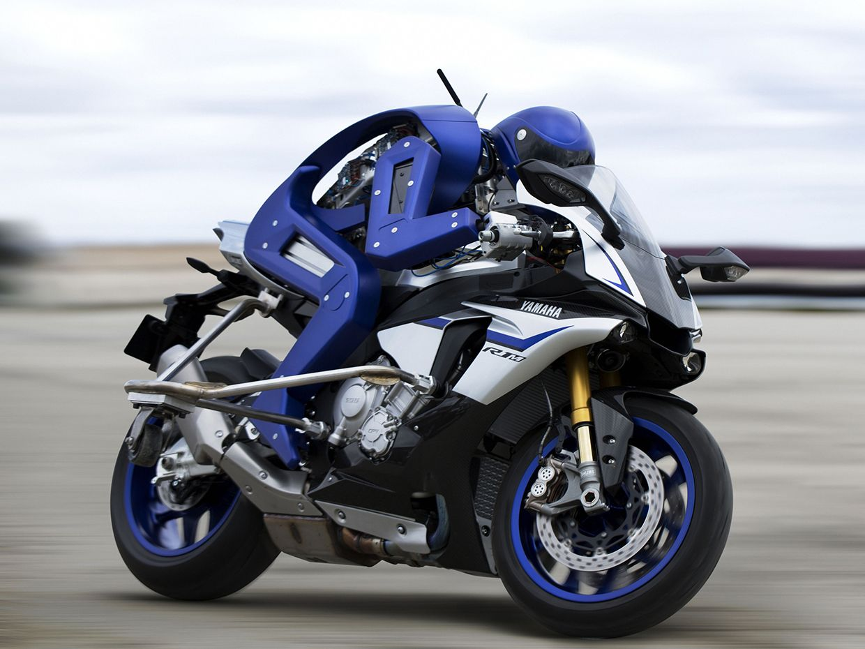 Watch A Robot's Attempt To Beat 7 Time MotoGP Champion's Lap Time Record