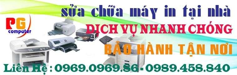 sửa máy in tại nhà quận Hoàng Mai