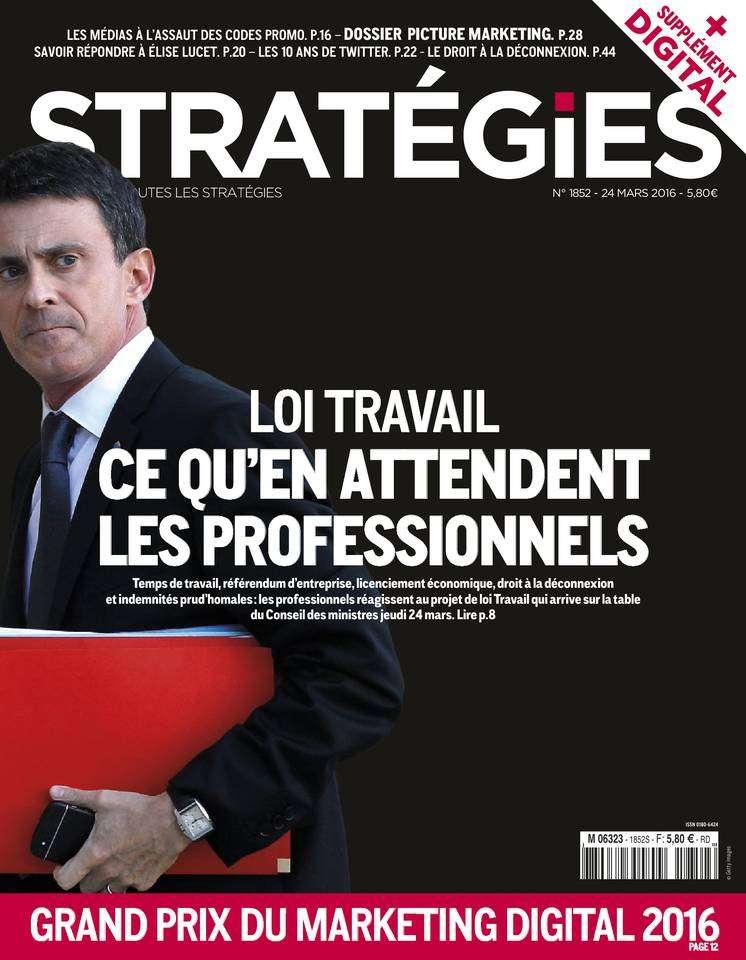 Stratégies - 24 Mars 2016