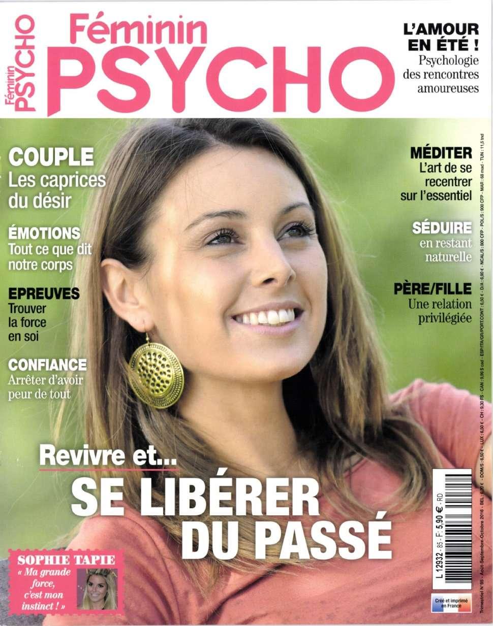 Féminin Psycho 85 - Aout/Octobre 2016