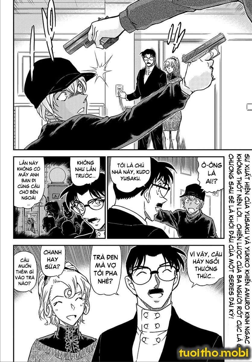 Detective Conan Chap 1012 - Trang 16