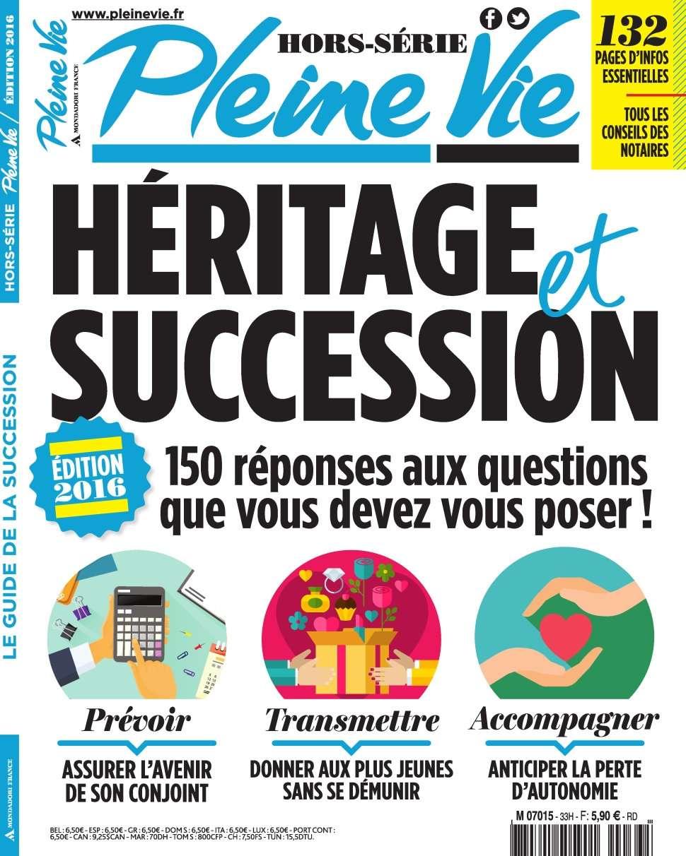 Pleine Vie Hors-Série 33 - Edition 2016