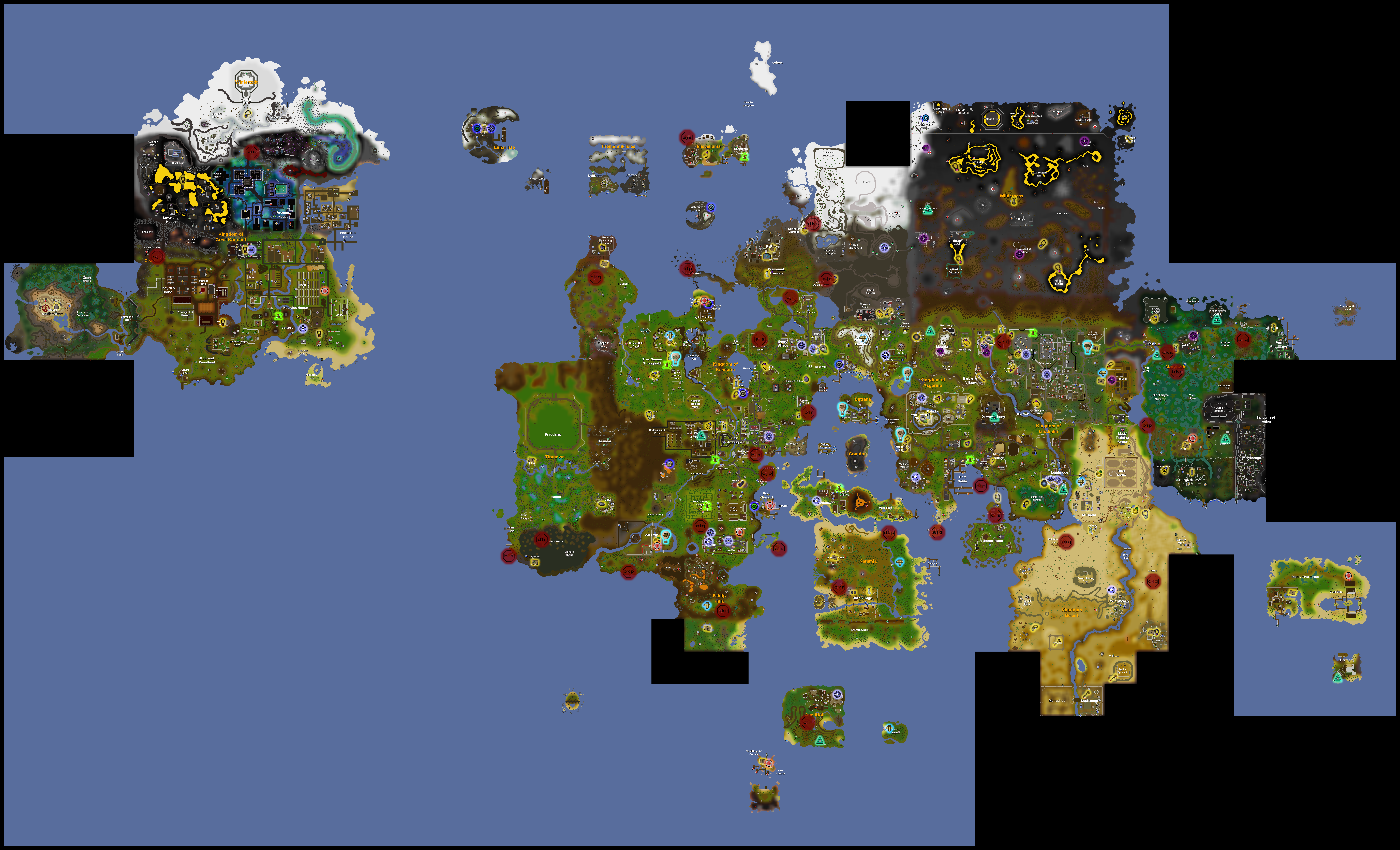 Teleportation old school runescape wiki fandom powered by wikia teleport map gumiabroncs Images