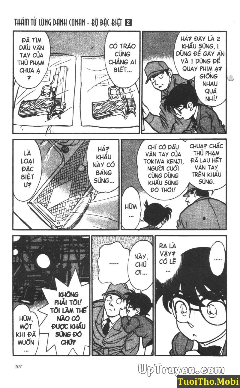 đọc truyện Conan bộ đặc biệt chap 14 trang 16