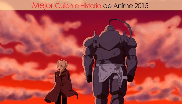 Eliminatorias Nominados a Mejor Guion e Historia de Anime 2015
