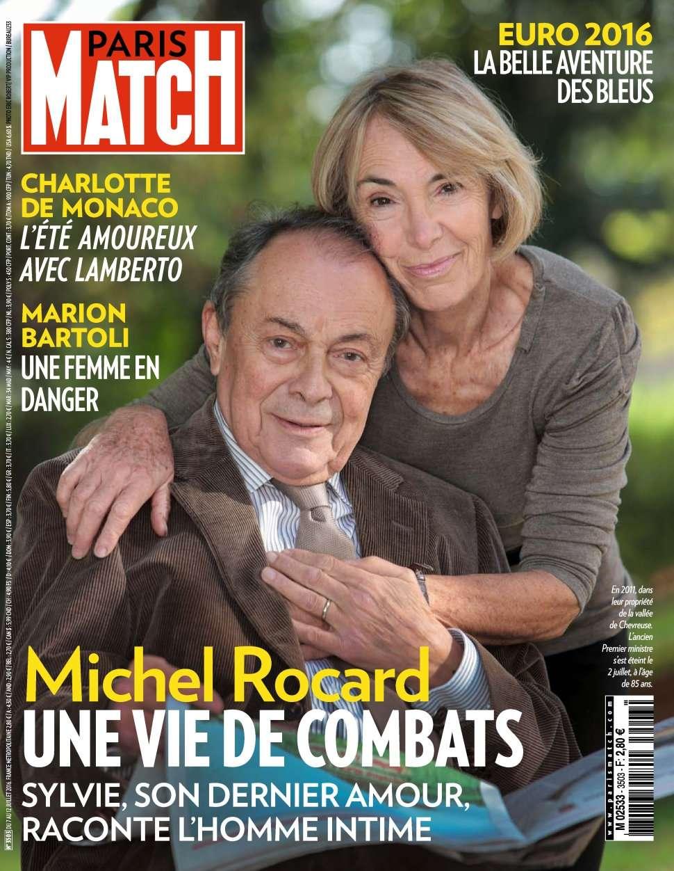 Paris Match 3503 - 07 au 13 Juillet 2016