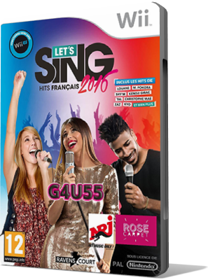 [WII] Let's Sing 2016 : Hits Français (2015) - SUB ITA