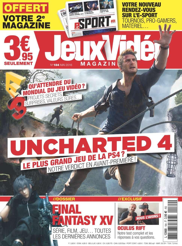 Jeux Vidéo magazine 184 - Mai 2016