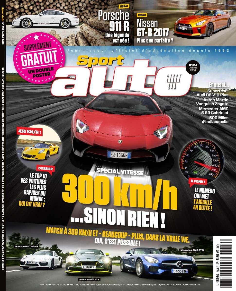 Sport Auto 654 - Juillet 2016