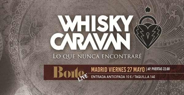 Whisky Caravan - cartel presentación