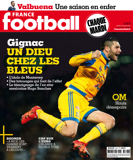 France Football 3647 - 22 Mars 2016