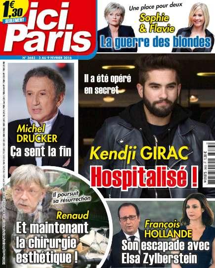 Ici Paris 3683 du 3 au 9 Février 2016