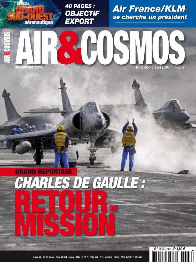 Air & Cosmos 2495 - 8 au 14 Avril 2016