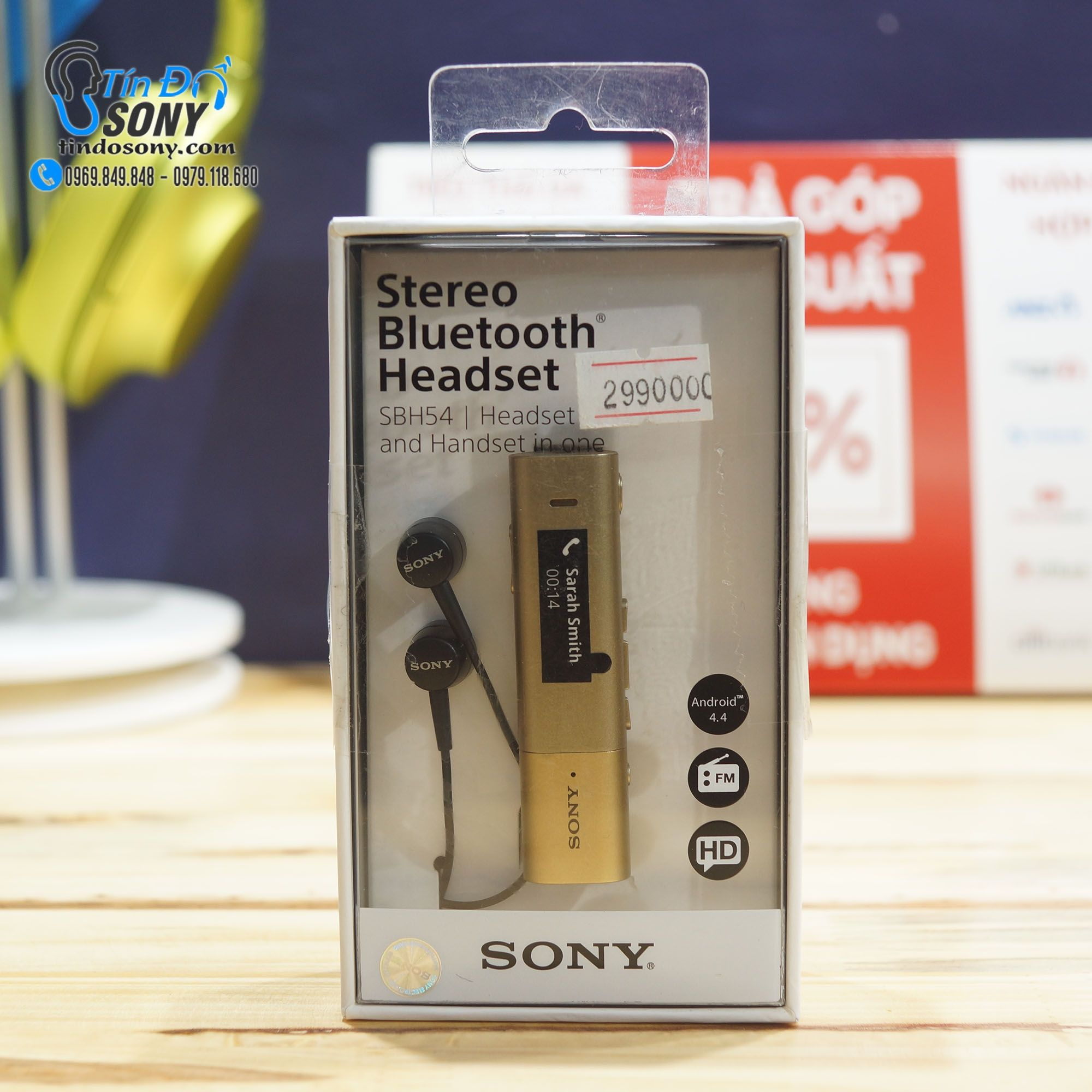 Tai nghe Sony Bluetooth SBH54 (New)