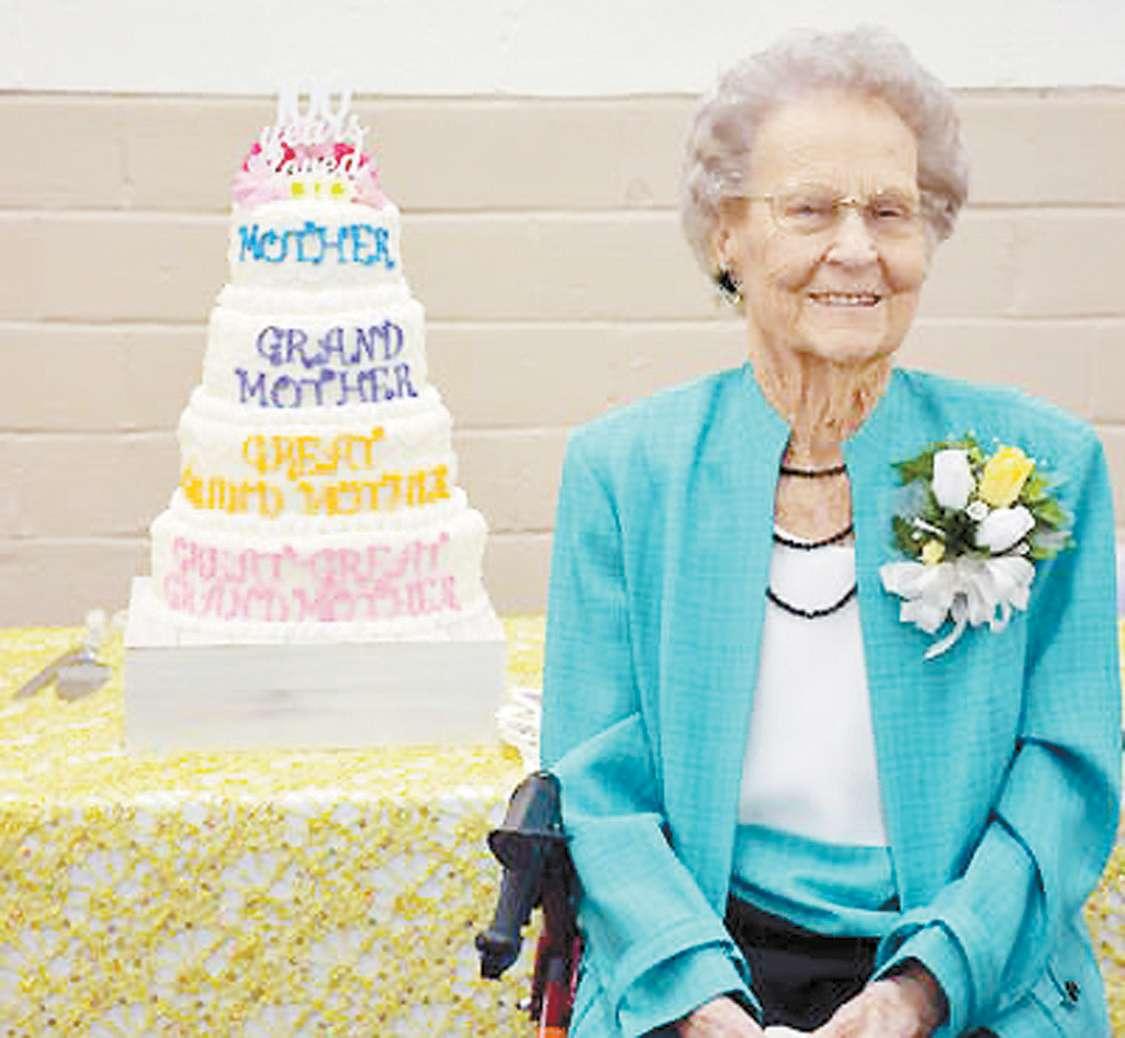 Johnie Rounds Celebrates 100th Birthday