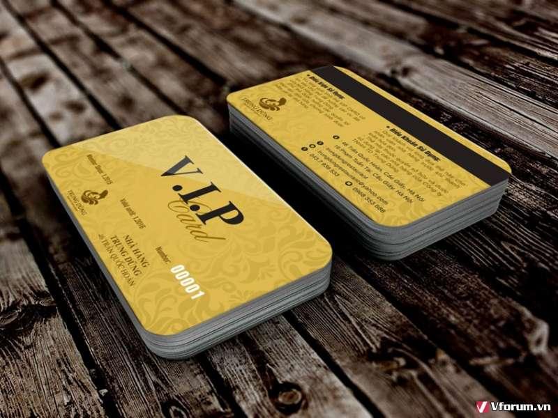Cách đặt in thẻ nhựa tiện ích cho khách hàng