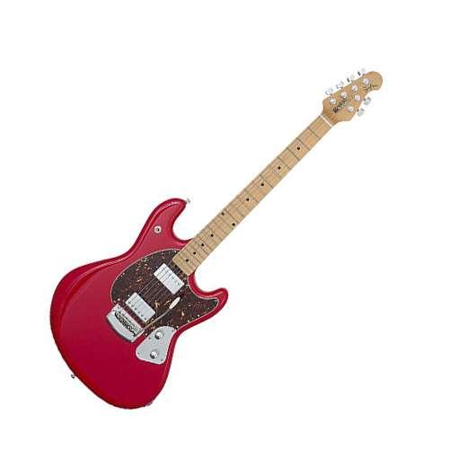 Musicman - Guitarra Electrica Stingray con Estuche, Color: Rojo Mod.825-HC-10-03