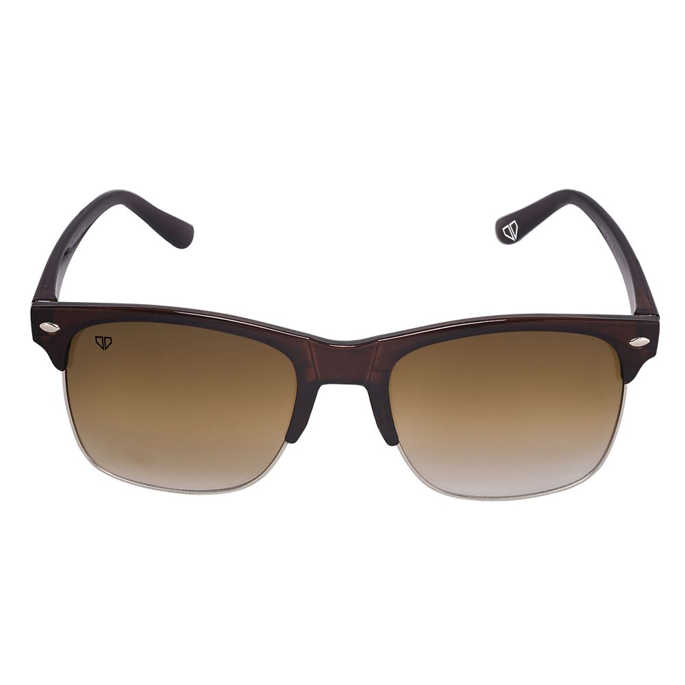 Walrus Levi Brown Color Unisex Wayfarer Sunglass - WS-LEVI-090709