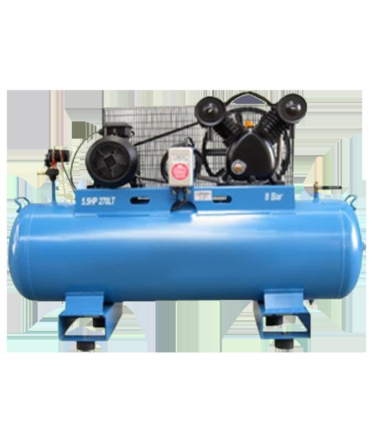 Compresor De Aire Mpower 270 Lt 5.5 Hp 220v Trifásico