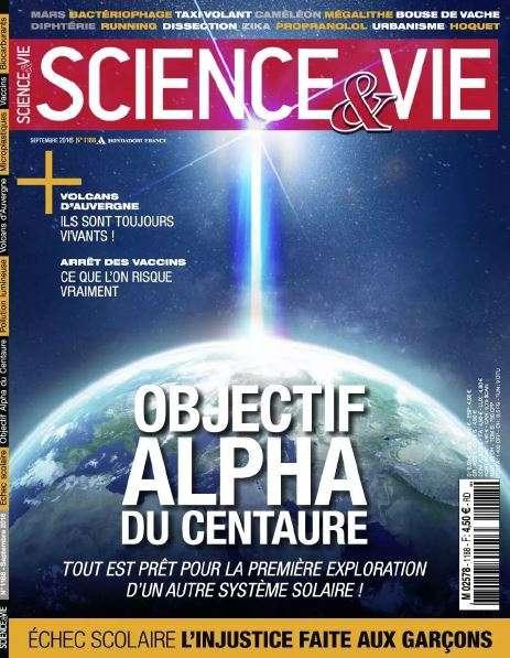 Science & Vie - Septembre 2016