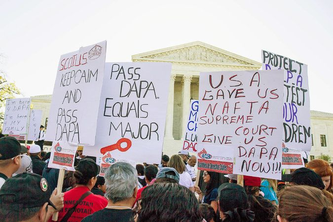 Supreme Court Seems Split on Obama's Immigration Plan
